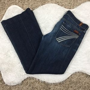 7 For All Mankind Size 28 Dojo Jeans #279